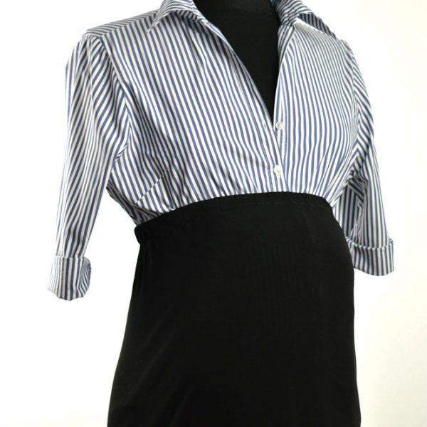 Schwangerschaftskleid-aus-altem-Hemd